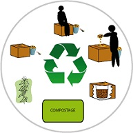 Cycle du compostage
